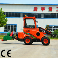 Brand new machine DY840 garden machinery mini loader tractor with lawn mower