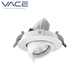 Aluminum lamp body 12W 20W 30W 12v cob clip led scoop downlight