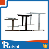 Ruishi Brand table sit to stand lift mechanism adjustable desk with motorized adjustable height table legs