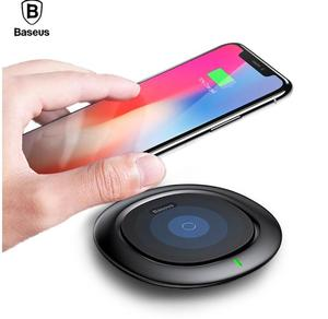Baseus 10W Qi Wireless Charger For iPhone X/8 Smart Fast Wireless Phone Charger for Samsung Galaxy S9/S9+ S8 Note 8