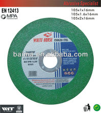 Cutting Wheel For SS,GREEN