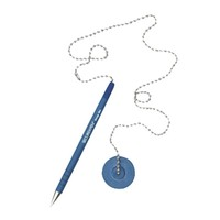 Bank Table Pen With Chain For Promotion