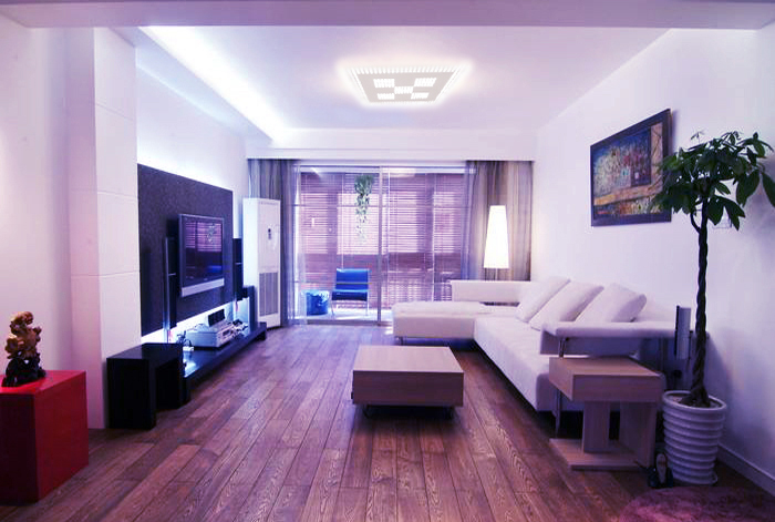 Rampe led 50cm pour l 39 clairage de plafond dc24v 7 2w - Rampe lumineuse led cuisine ...