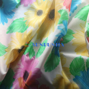 high quality good strength ripstop nylon printed fabric