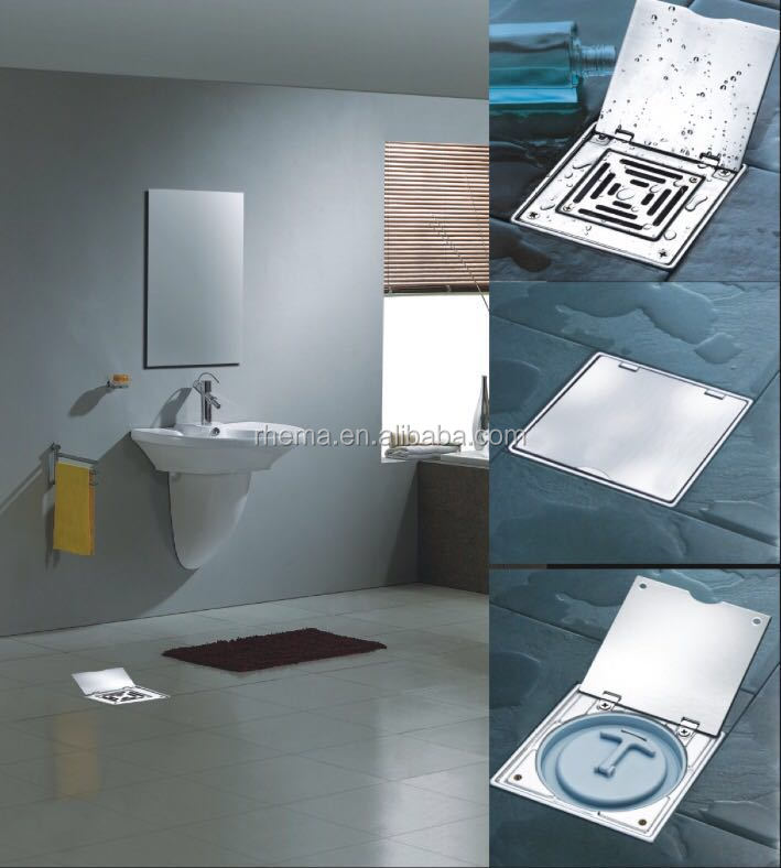 High Quality Stainless Steel Floor Trap Drain Cover Plate