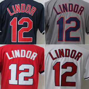 Custom Throwback Corey Kluber American Baseball Jersey Wholesale Stitched Francisco Lindor Baseball Jersey