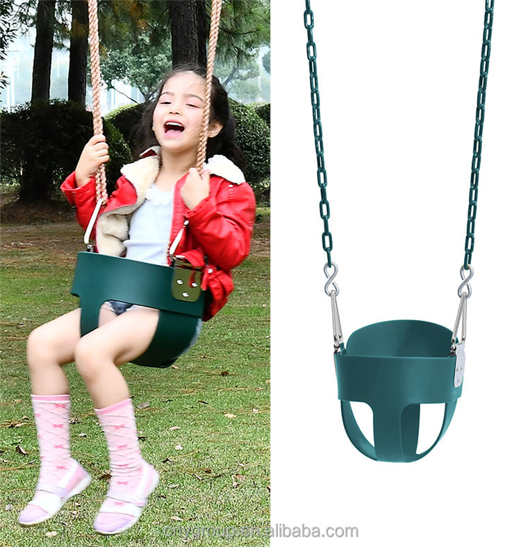 hot selling EVA plastic toy baby infant bucket set swing