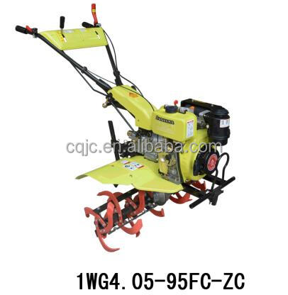 Hot Sale 2016 gasoline electric start bangladesh land power tiller 1WG4.0-90FQ-D
