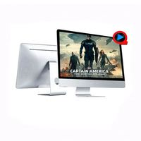 18.5 inch AIO PC / Desktop All in One Computer