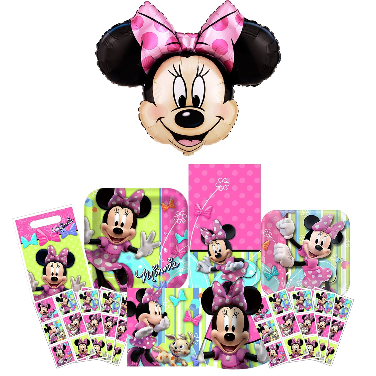 Disney Minnie Mouse Bow-tique Party Pack 57pc