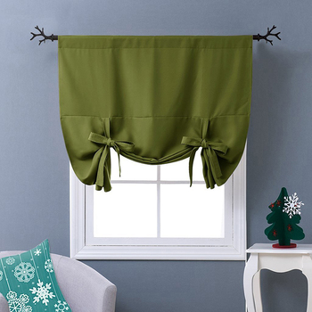 Blackout Drapery Curtain Olive Green