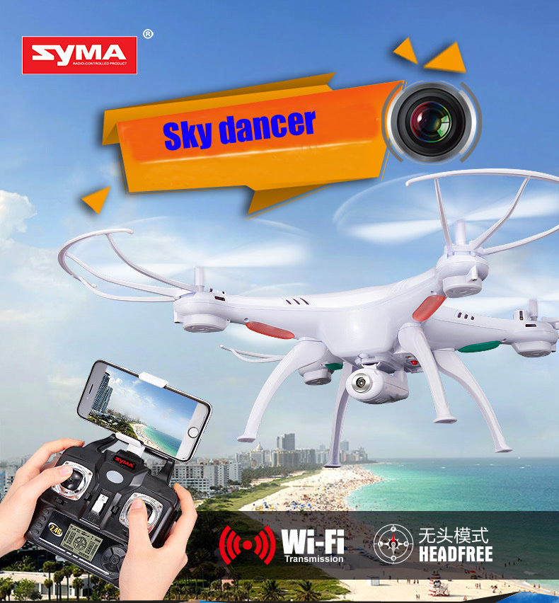 2015 Newest arrival,Syma X5SW rc helicopter Wifi FPV Real-time 2.4G