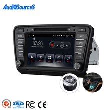 Doppel 2 Din Touch Screen Android Multimedia Auto Dvd Cd-Radio-Player Mit <span class=keywords><strong>Gps</strong></span> Für Skoda Octavia