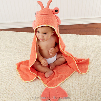 ... Baby Girl Boy Hooded Bath Towel Wrap Bathrobe Bathing. 2019 063ea94aa