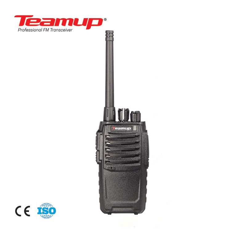 Venda direta da fábrica de China 5W uhf 400-470mhz walkie talkie
