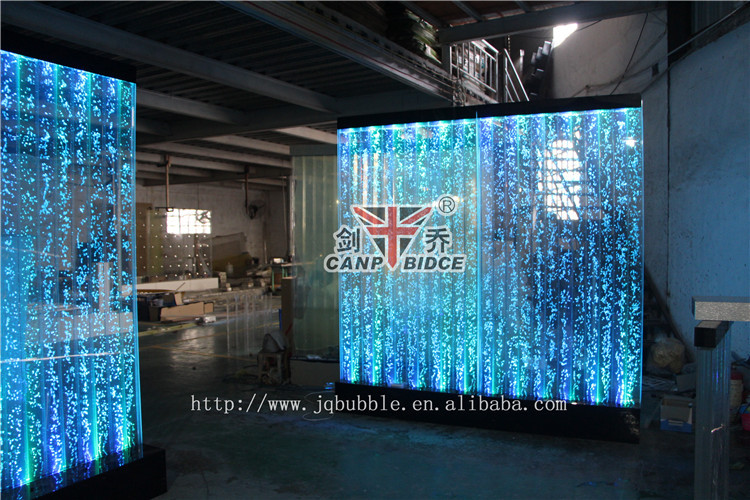 nightclub interior design led bubble water feature wall background, Home designs