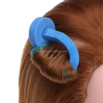 Magic Sponge Hair Curler Foam Rollers Hairstyle Tool - Buy Magic ...