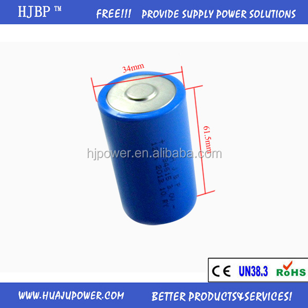 HJBP china factory wholesales non-rechargeable LIMNO2 6V 2CR5 primary lithium battery with high power