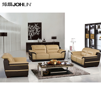 Valentine's day Designs Luxury living room office furniture modern leather sofa set for drawing room