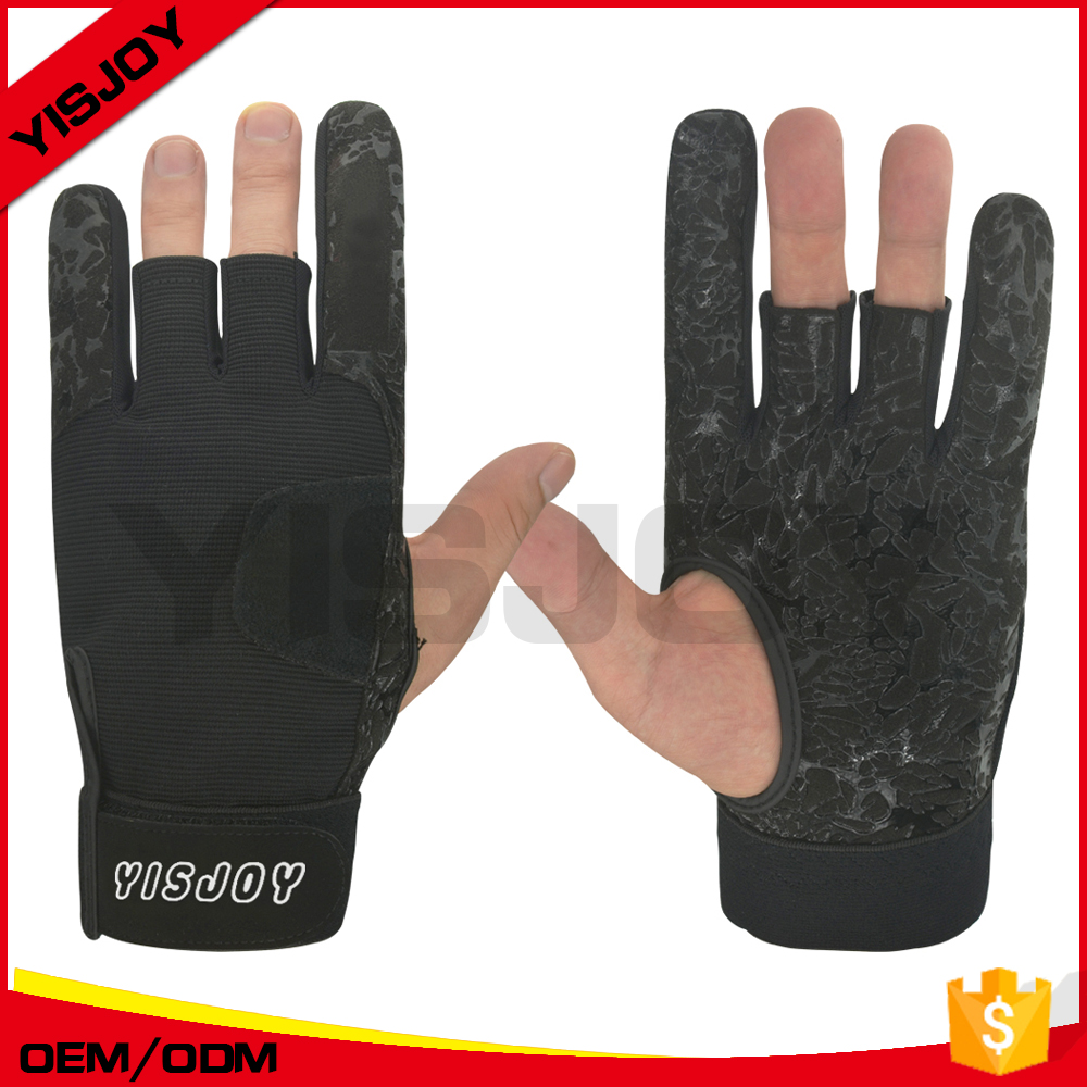 China supplier custom bowling pro gloves for men