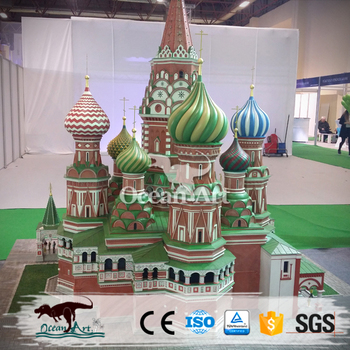 OA1510 Customized miniature world famous building Replica models