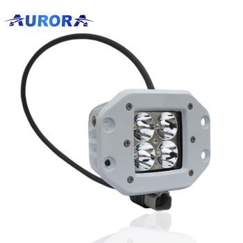 Hottest Off Road Military Vehicle 2'' 12v Led Pods 40W Flush Mounted Led Work Light for Marine Led Light