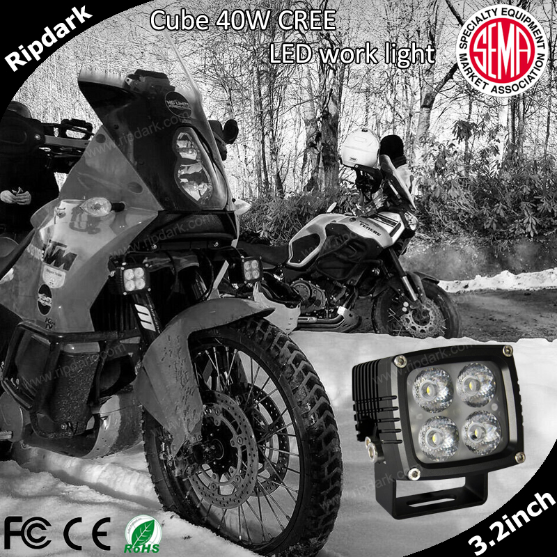 Vietnam agent hot sale led work light for motorbike and car,narrow wide beam beam cree work light