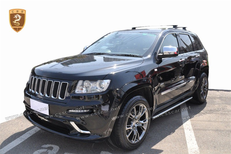 srt8 style body kit for jeep grand cherokee with pp material auto bodykits buy srt8 style body. Black Bedroom Furniture Sets. Home Design Ideas
