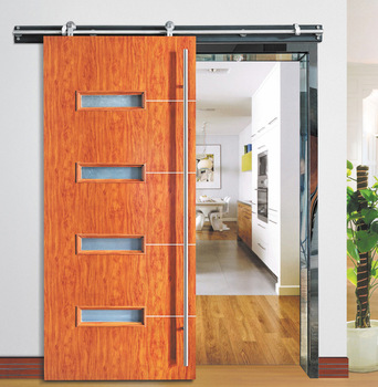 Low Price Malaysia Wooden Single Door Designs Interior Sliding Solid