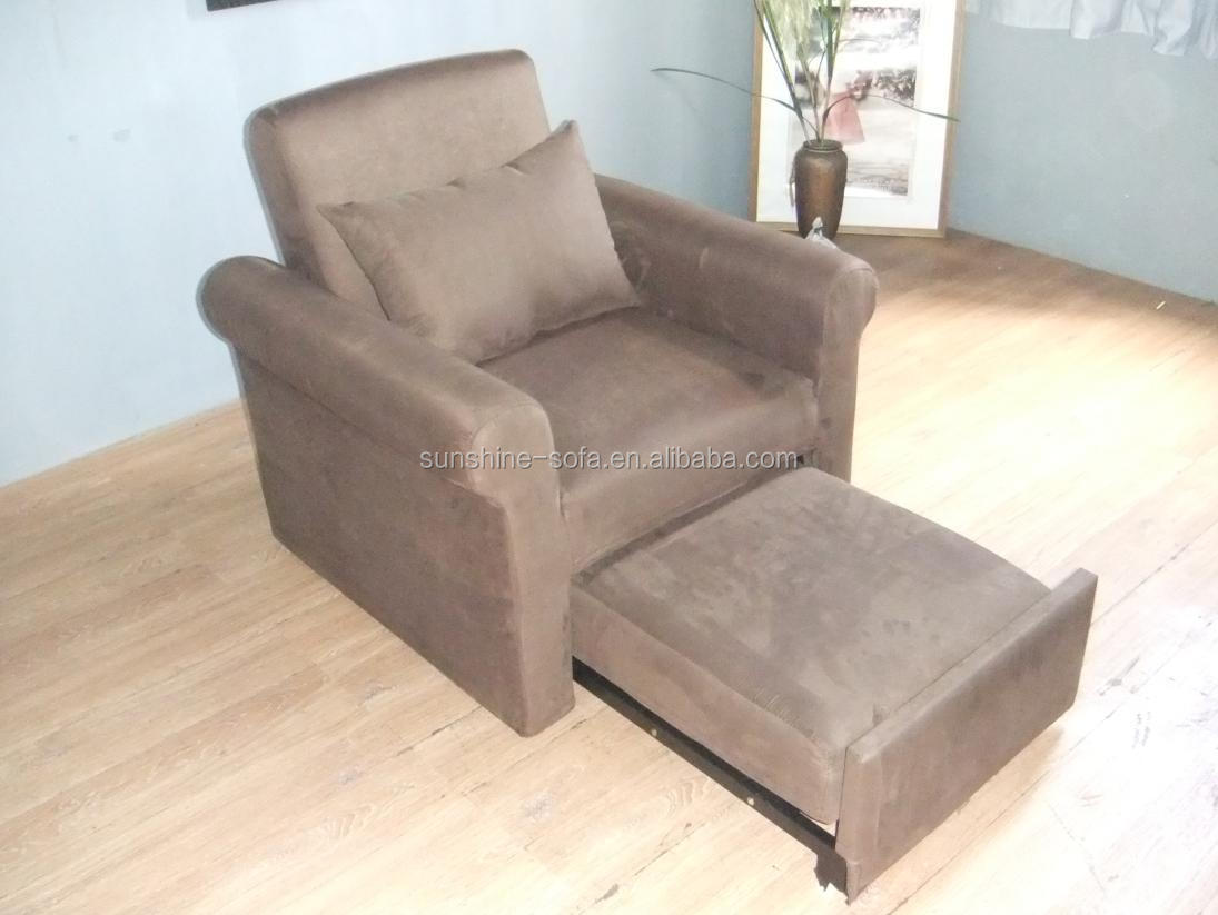 Modern Design Single Sofa Sleeper Brown Sofa Cum Bed Designs View