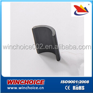 strong Ferrite Magnet segment arc rectangle block ring circle