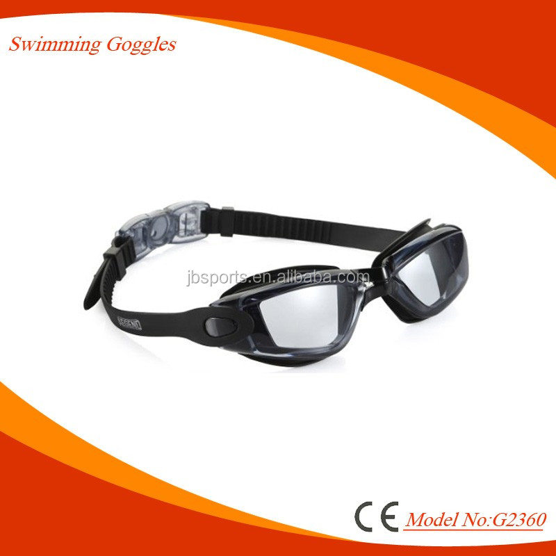 Professional prescription swimming goggles with optical -1.0 to -8.0 are available