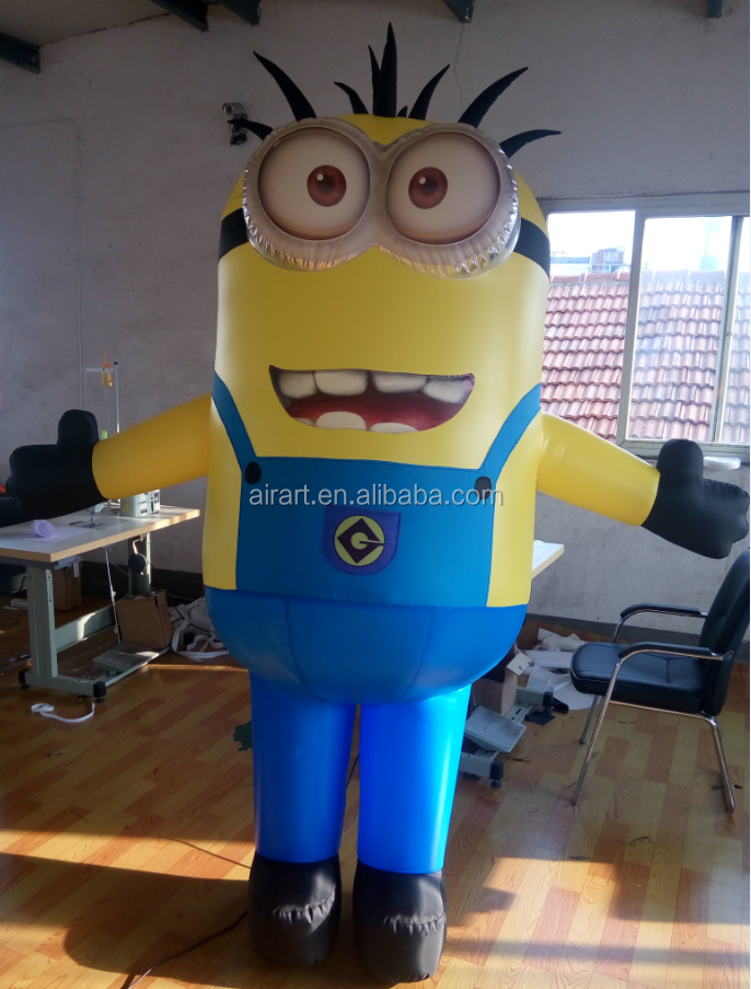 event ads promotion movie character inflatable