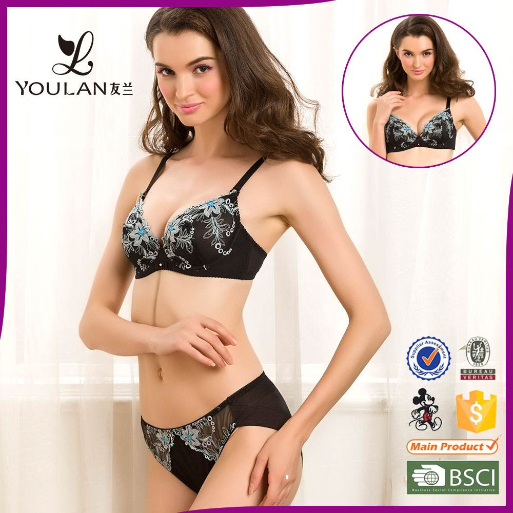 d2222317e7 2016 New Hot Selling Underwear Womens Lingerie Hot Sexi Girl Wear Bra Panty  Set