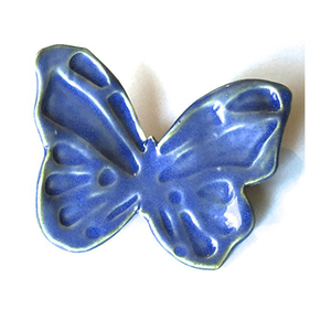 Colorful Decorative Hand Painted ceramic butterfly wall decor