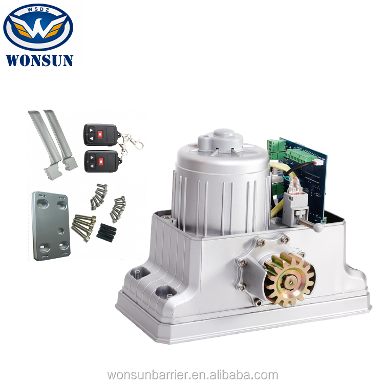 Wireless Control Chain Drive Slide Gate Operator Rolling Gate Motor ...