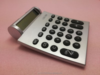 desktop special giveaway gift promotional calculator 8 digit round LCD display