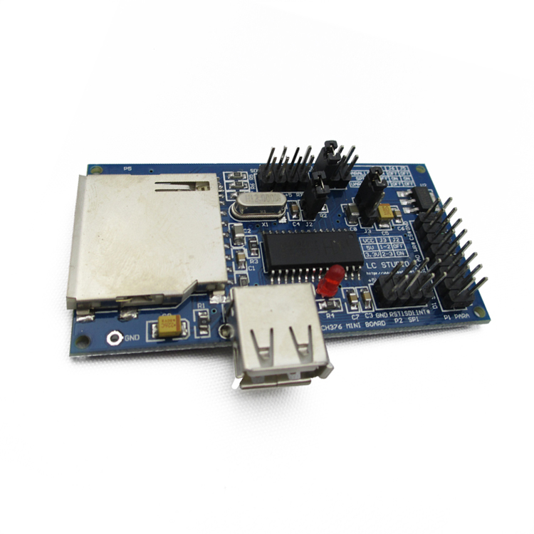 CH376S U disk SD card Mouse Keyboard module supports parallel port SPI interface