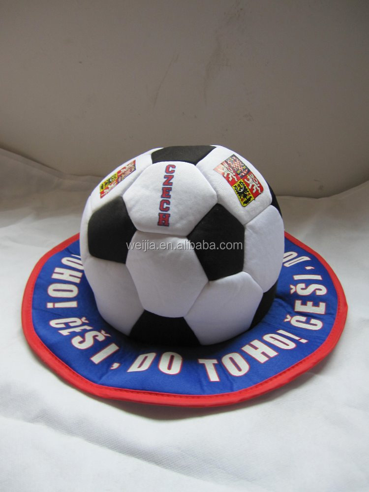 Promotional football fans hats caps