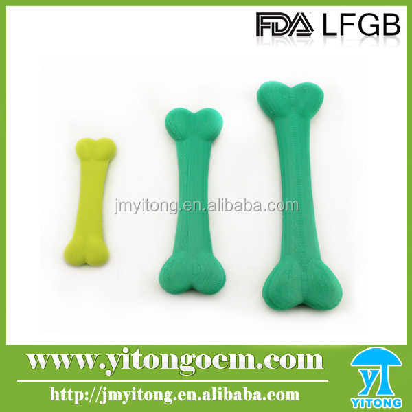 2016 Latest Item Set of 3 silicone dog toys