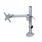 STARSDOVE Economy steel articulating desktop swivel laptop monitor arm,standing VESA lcd monitor desk mount