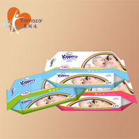 High quality spunlace nonwoven fabric tissue/wet wipe cleaning individual cleaning magical private label ultra compact