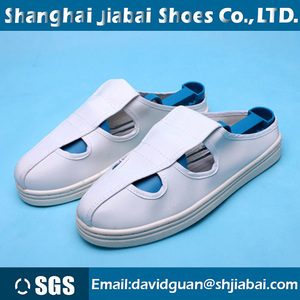 anti static shoes white PVC sole man women work For clean laboratory anti-static shoe cleanroom esd shoes