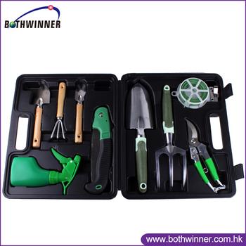 Lady garden tool set h0t109 heavy duty tool box garden for Heavy duty garden tools