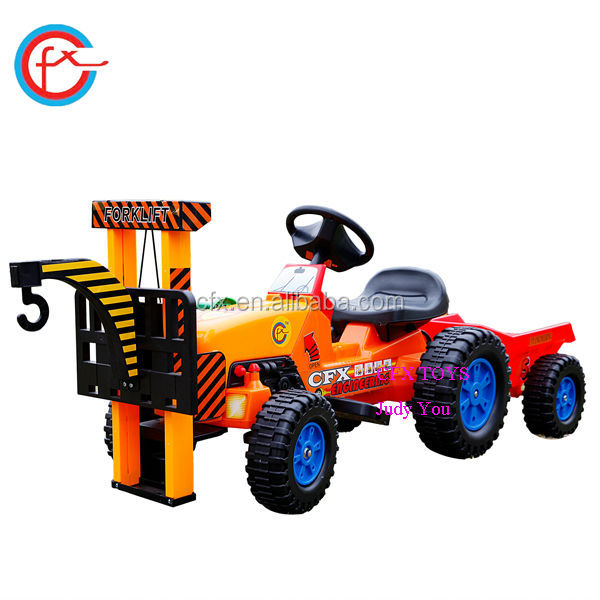 Baby Toys Ride On Car Electronic Mini Crane With Hock 617