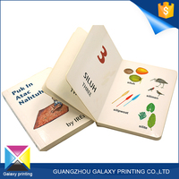 High quality and fast delivery board book publishers in China accept OEM or ODM