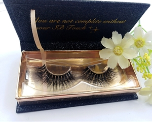 1 real online lashes store black glitter rose gold lash mink eyelash box
