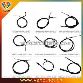 VANO OEM motorcycle cables- all kinds of clutch cable, throttle cable, speedometer cables