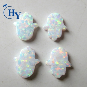 11x13mm synthetic opal hamsa price of white opal stone