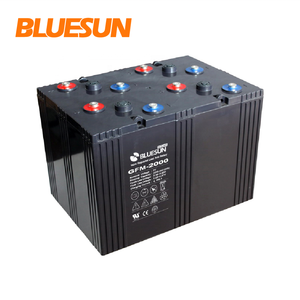 Bluesun deep cycle solar battery 12v 1000ah 2000ah 3000ah rechargeable power bank battery